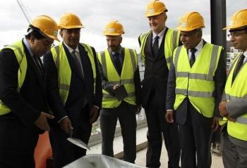 'Topping Out' Ceremony Performed for AKDN's Academic Building in London, King's Cross