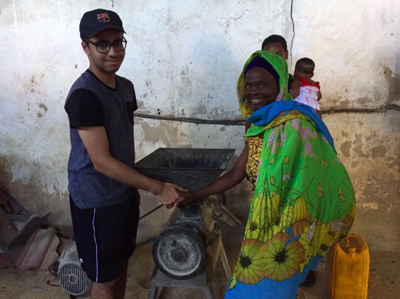 Tanzanian Student Alqaim Lalani Recognized for Personal Project Supporting Small-Scale Farmers