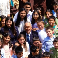 """Portugal's President Marcelo Rebelo to Portuguese Ismailis at the Ismaili Centre, Lisbon:  """"I consider myself your brother, and feel you as my brothers and my sisters."""""""