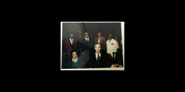 Historical Photograph: Begum Rana Liaquat Ali Khan & Prince Amyn Mohammed