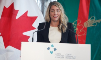 Remarks by the Honourable Mélanie Joly, Minister of Canadian Heritage (Image credit: GCP)