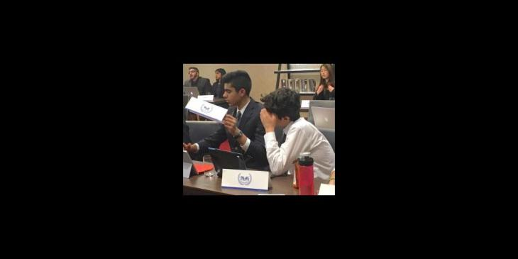 Burnaby student Sameer Esmail comments on Model United Nations