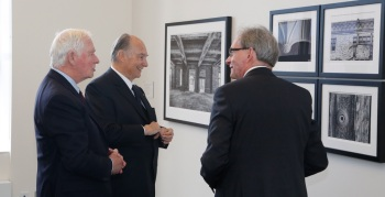 Secretary General John McNee in conversation with His Highness the Aga Khan and His Excellency the Right Honourable David Johnston, Governor General of Canada (Image credit: GCP)