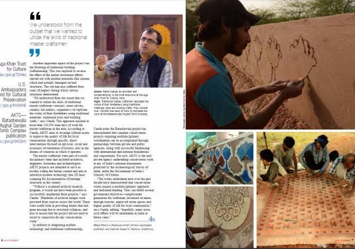 Restoring Heritage - Batashewala Mughal Tomb Complex