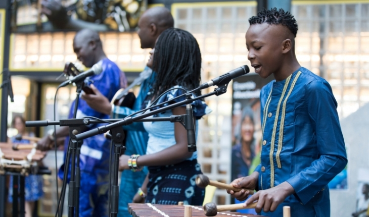 UNHCR and Aga Khan Music Initiative (AKMI) present Malian artists at UN World Refugee Day (Image credit: UNHCR / Susan Hopper via AKDN.org)