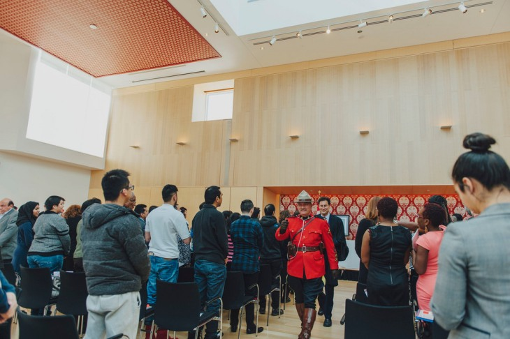 Canadian Citizenship Ceremony at the Ismaili Centre Toronto
