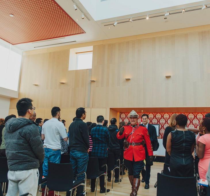 Canadian Citizenship Ceremony at the Ismaili Centre Toronto