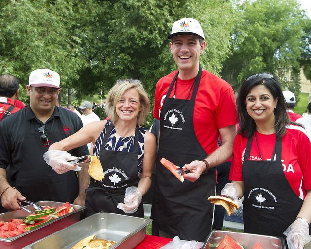 Hosted by the Aga Khan Council for Edmonton: Canada Day Pancake Breakfast