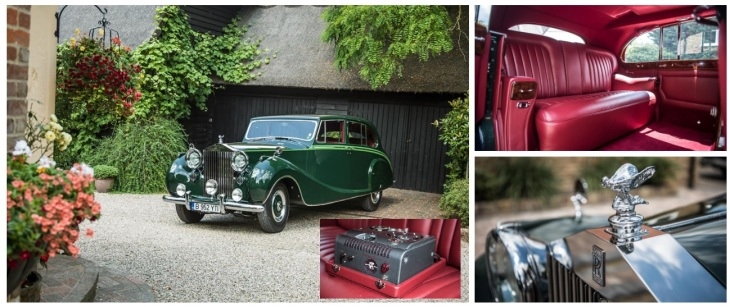 Closer look at His Highness Aga Sir Sultan Muhammad Shah, Aga Khan III's Rolls-Royce Phantom IV (image credit: Rolls-Royce)