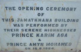 Dodoma Jamatkhana Opening Ceremony