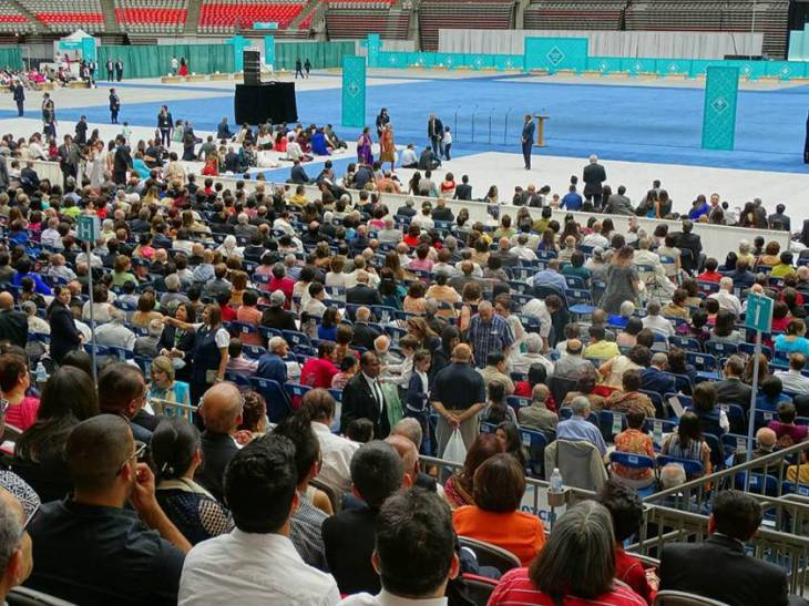 Photo Gallery: Canadian Ismailis celebrate Aga Khan's Diamond Jubilee at BC Place in Vancouver