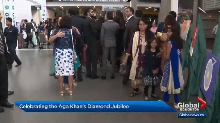 Edmontonians celebrate Aga Khan's Diamond Jubilee