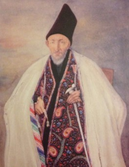 Hajji Mirza Aqasi, chief minister of the Qajar court. Image: The Ismailis, An Illustrated History.
