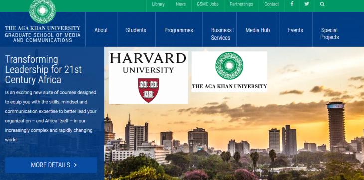 Harvard University & Aga Khan University Collaborate to Transform Leadership for 21st Century Africa