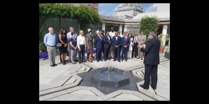 Mayor of Houston, Sylvester Turner visits Ismaili Centre, London