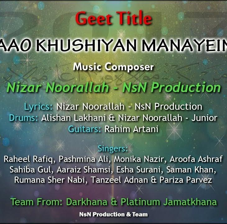 Aao Khushiyan Manayein - NsN Production
