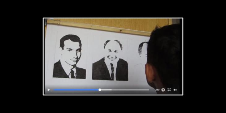 (Mubarak's Art) Time-lapse Video: Aga Khan IV Diamond Jubilee