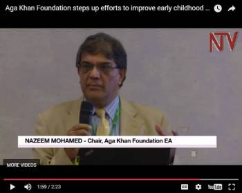 Aga Khan Foundation steps up efforts in Uganda to improve early childhood development