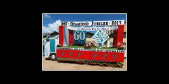 Tanzania Diamond Jubilee Parade Floats