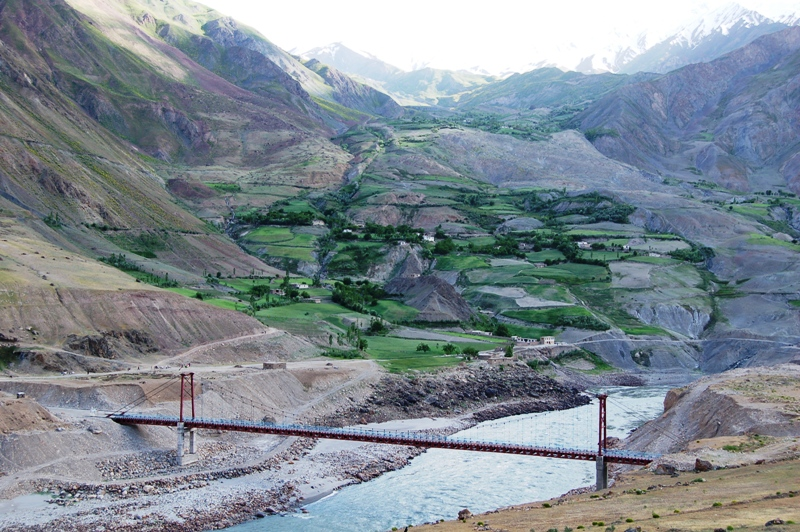 EU funds project to build a bridge at Tajikistan-Afghanistan border