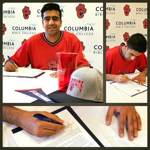 Aly Nuruddin signs contract with CBC Bearcats Men's Basketball