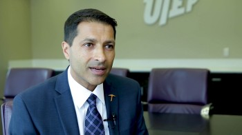 Interview with Dr. Dharamsi: New Dean Plans to Expand College's Global Role | The University of Texas at El Paso