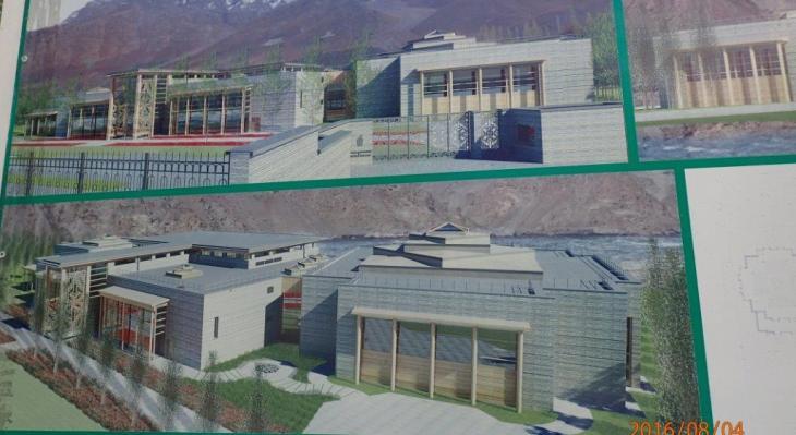Construction Photographs: New Khorog Jamatkhana