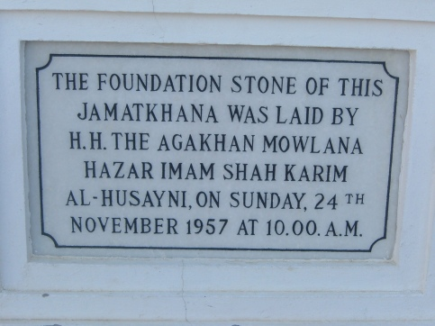 Foundation Stone Plaque