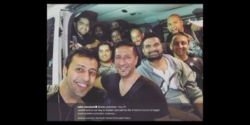 Indian Film Industry artists, Salim Sulaiman & team arrives in United States for the first-ever Diamond Jubilee Concert