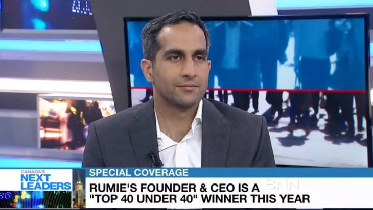 Rumie Initiative's Tariq Fancy Wins BNN's Top 40 Under 40 Award