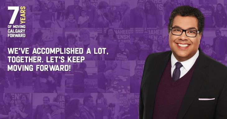 Re-elect Naheed Nenshi for Mayor