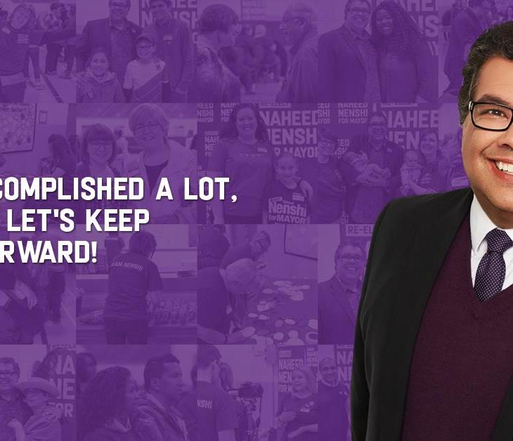 Re-elect Naheed Nenshi for Mayor