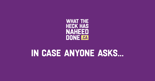 Interactive: What the heck has Naheed done?