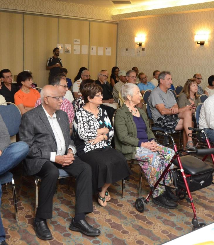 Mansoor Ladha's 'Memoirs of a Muhindi' successfully launched in Calgary