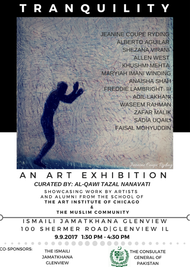 In association with the Consulate General of Pakistan, Ismaili Jamatkhana to host an Art Exhibition
