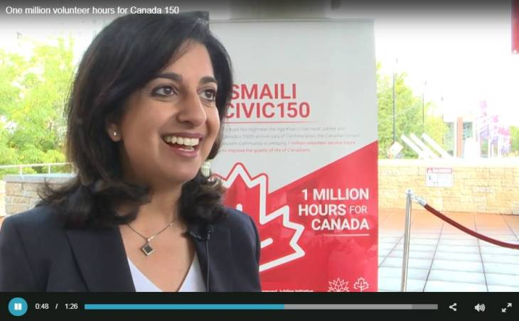 City News Edmonton: One million volunteer hours for Canada 150