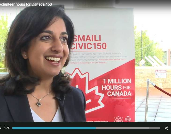 City News Edmonton: One million volunteer hours for Canada 150