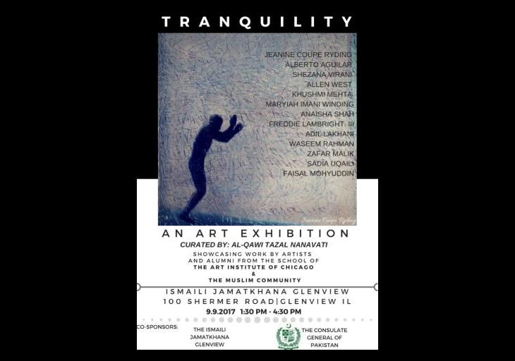 In association with the Consulate General of Pakistan, Ismaili Jamatkhana in Chicago to host an Art Exhibition