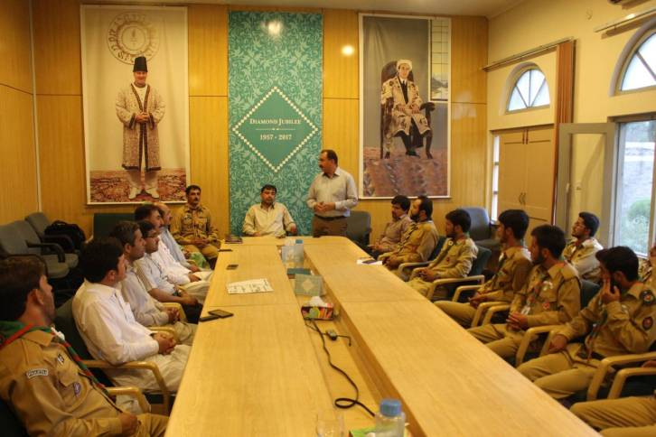 Boy Scouts Association of Gilgit Celebrates Prince Amyn Chief Scout Day