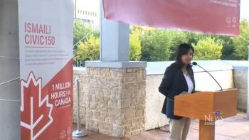 Ismaili Muslims pledge 150 million service hours towards Canada 150 in commemoration of His Highness the Aga Khan's Diamond Jubilee