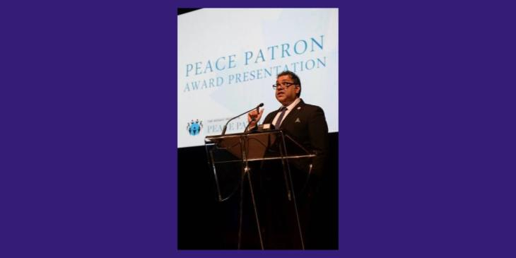 Mayor Naheed Nenshi, Mosaic Institute's 2017 Honorary Peace Patron