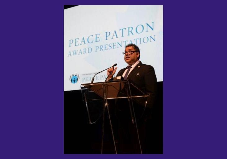 Mayor Naheed Nenshi, Mosaic Institute's 2017 Honorary Peace Patron