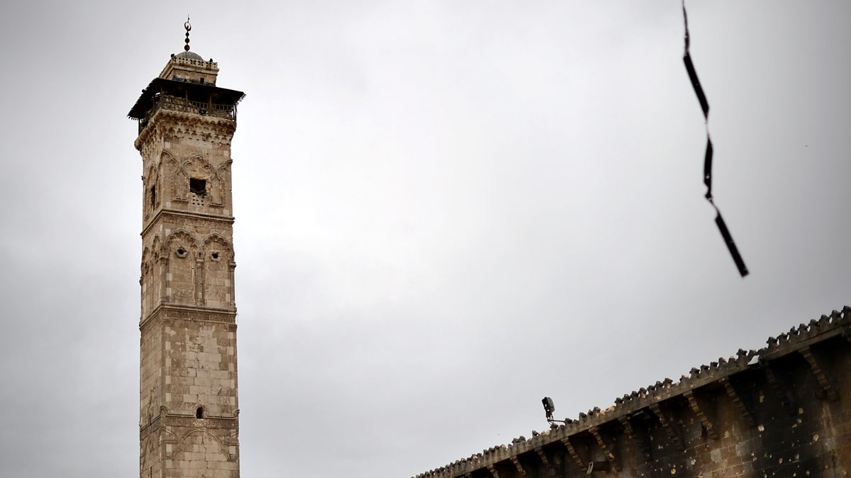 BBC Radio 4 - Museum of Lost Objects, Minaret of the Umayyad Mosque, Aleppo