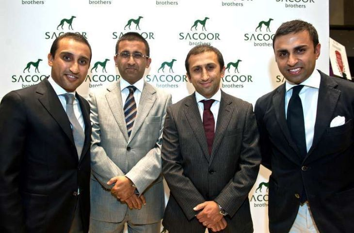 The Sacoor brothers (l-r) Rahim, Malik, Salim and Moez (image credit: Ahlanlive)