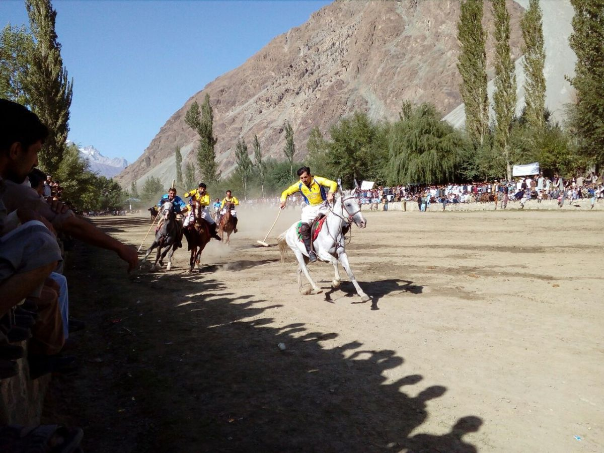 Diamond Jubilee Polo Tournament in Yasin valley, Gilgit-Baltistan