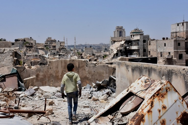 Return to Aleppo: 'I never expected such destruction'   Middle East Eye