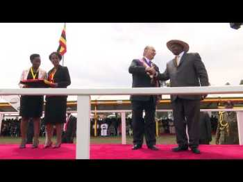 AKDN Video: The Aga Khan receives the Most Excellent Order of the Pearl of Africa