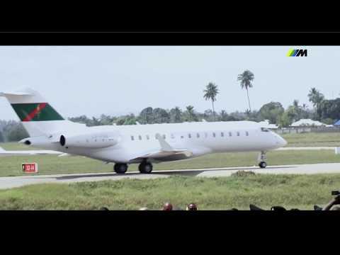 Video: His Highness the Aga Khan Arrives In Dar es Salaam, Tanzania