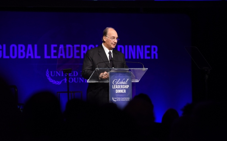 Speech delivered by His Highness the Aga Khan at the United Nations Foundation Award - New York, USA