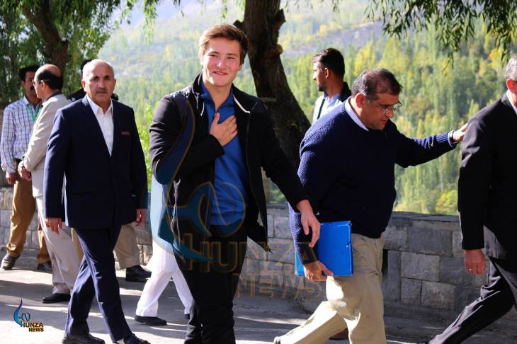 Collection of Photos & Video: Prince Aly Muhammad Aga Khan in Hunza